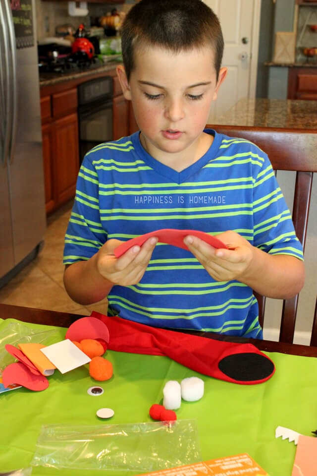 Crafting a Sock Puppet