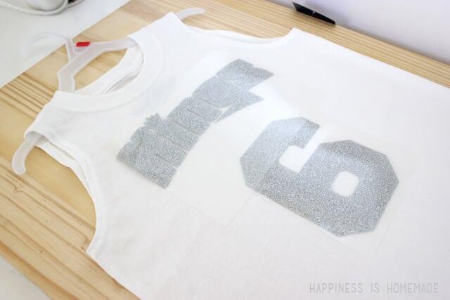 DIY Team Shirts with Heat Transfer Vinyl
