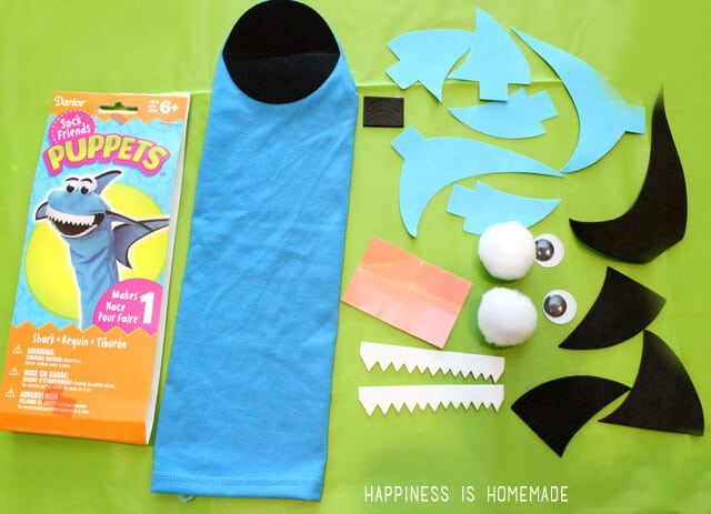 Darice Sock Puppet Kits are TONS of Fun for Kids