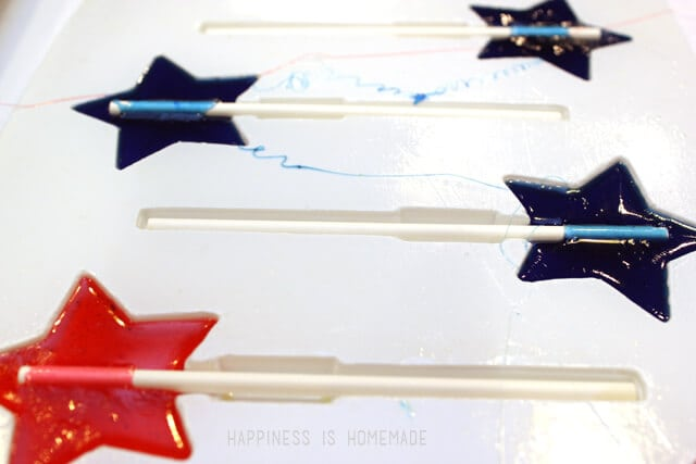 Star Shaped Hard Candy Lollipop Molds