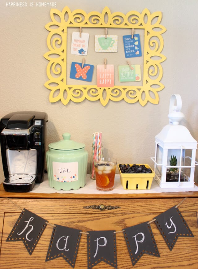 Summer Iced Tea Station with Lipton and Keurig