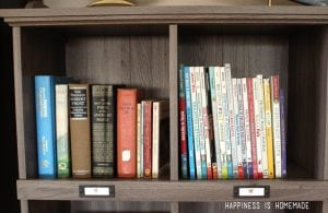 Favorite Books in the Barrister Lane Bookcase