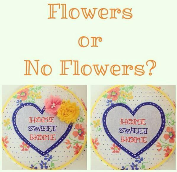 Flowers or No Flowers