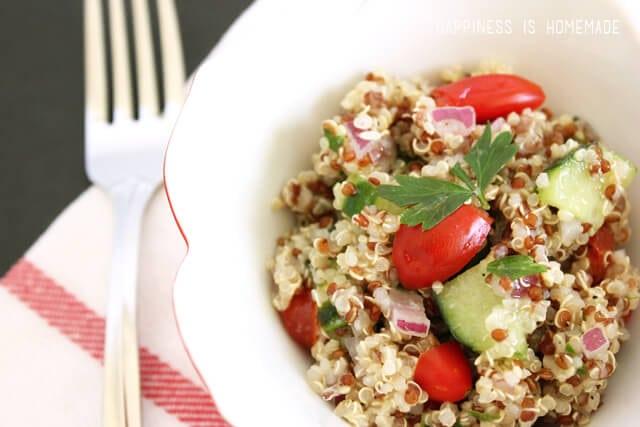 Healthy Quinoa Tabbouleh Recipe