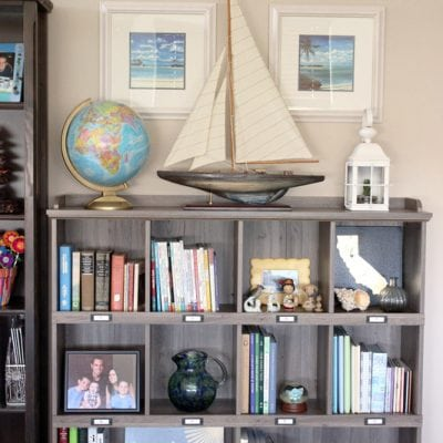 Master Bedroom Book Nook