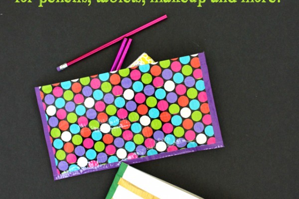 No Sew Duck Tape Zipper Pouch