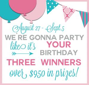 Birthday Giveaway Logo