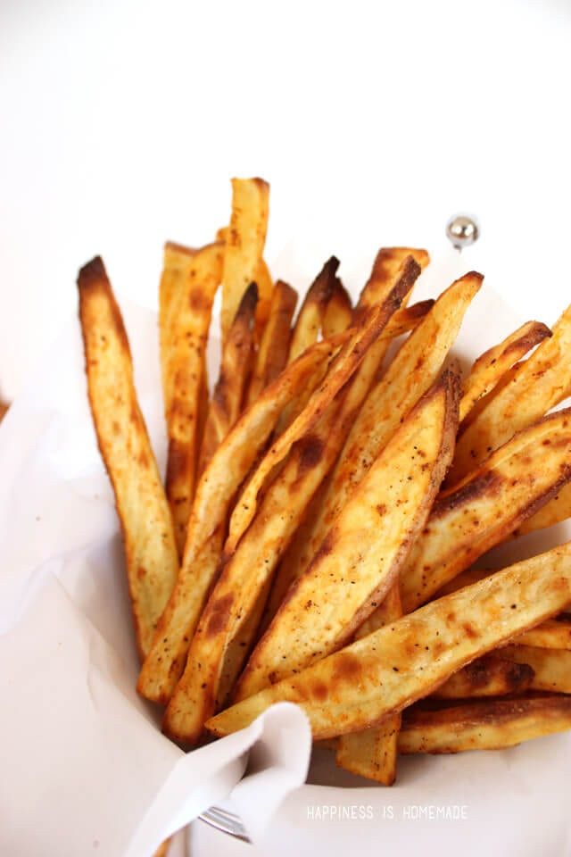 Crispy Spicy Sweet Potato French Fries