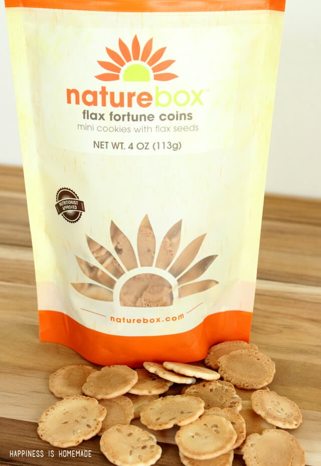 Flax Fortune Coins by NatureBox