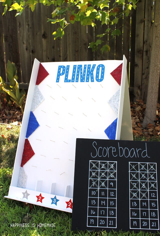 Foam Core Plinko Game Board