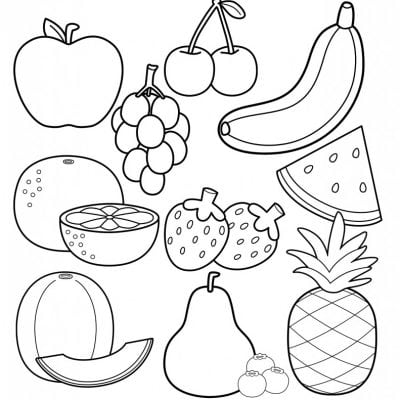printable healthy eating chart coloring pages 100 free printable ...
