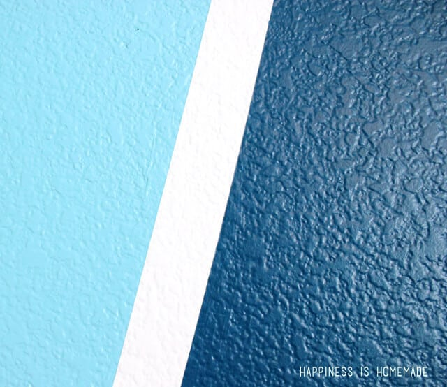 Get crisp lines on heavily textured wall surfaces with Frog Tape