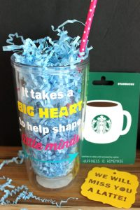 It Takes a Big Heart to Help Shape Little Minds Mug - Cute teacher gift idea