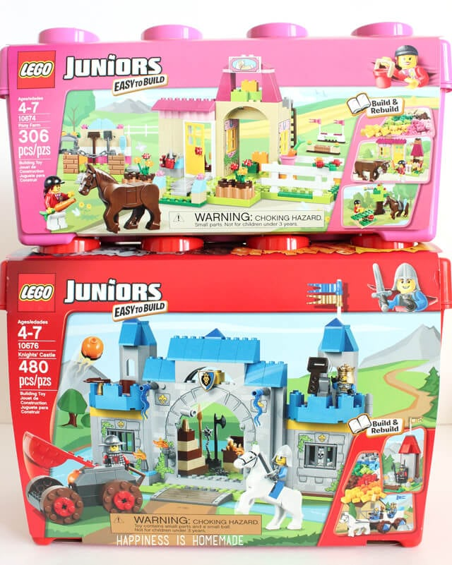 Become a Master Builder with LEGO® JUNIORS - Happiness is Homemade