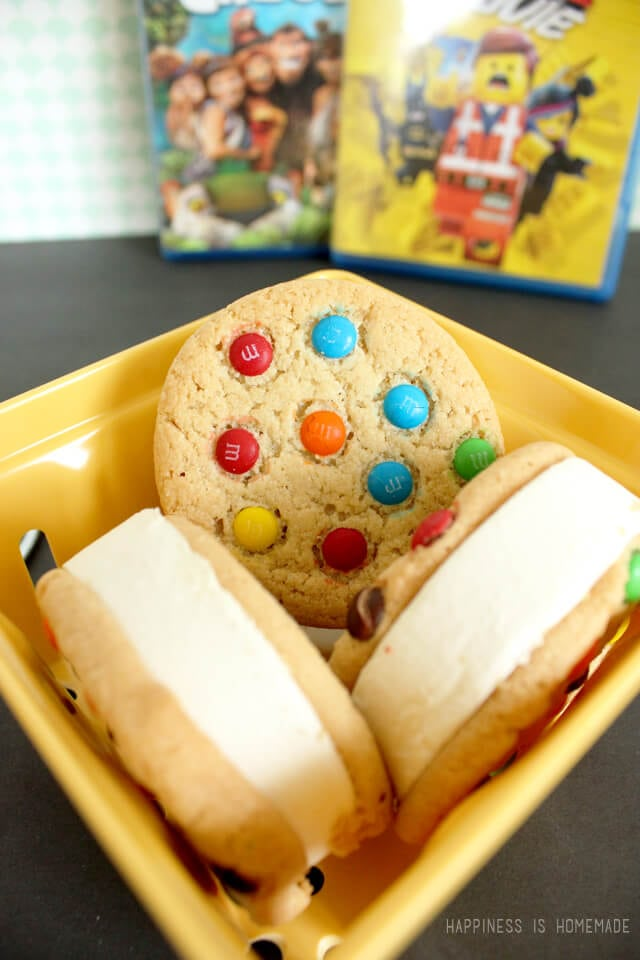 Mars M&M Ice Cream Sandwiches