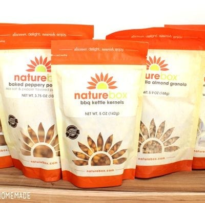 Healthy Snacking with NatureBox