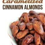 Paleo Caramelized Cinnamon Almonds – Refined Sugar Free!
