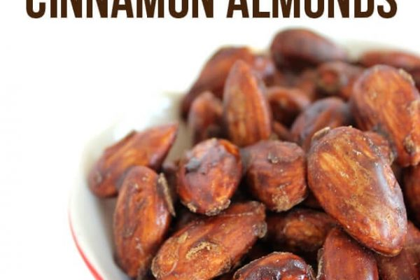 Paleo Caramelized Cinnamon Almond Recipe - Only 3 Ingredients