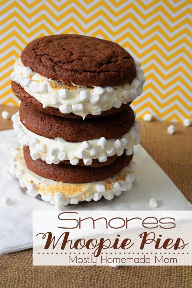 Smores Whoopie Pies 1