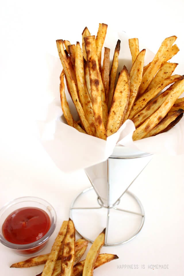 Spicy Sweet Potato French Fries