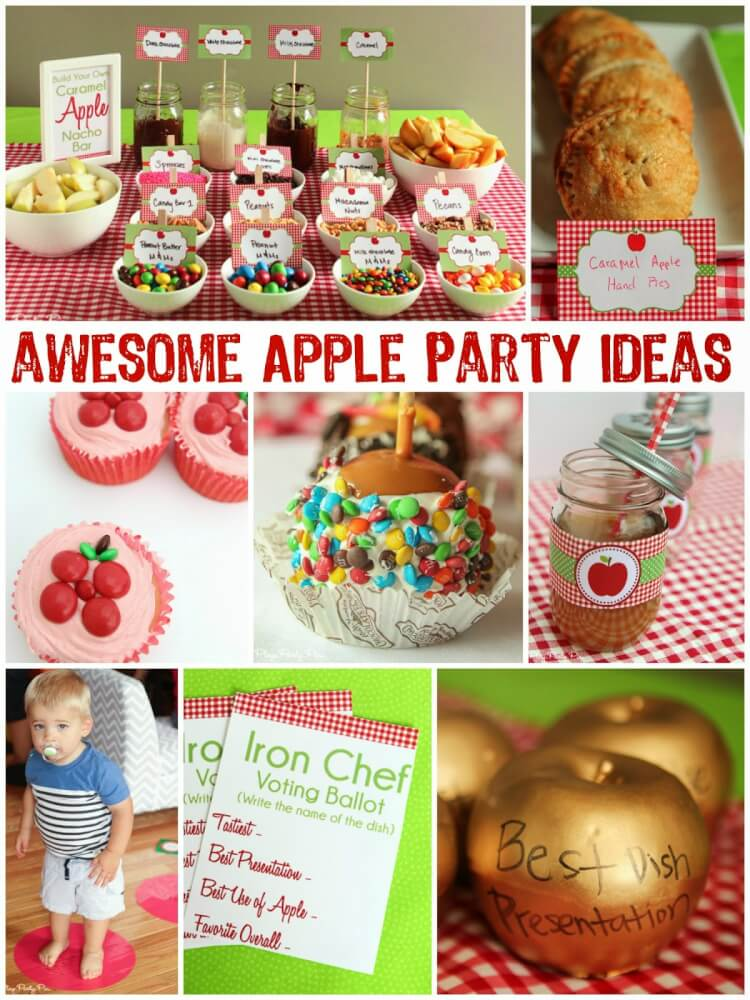 Apple-party-ideas