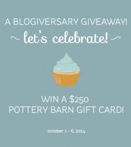Blogiversary Giveaway