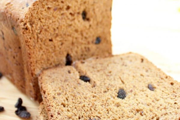 Cinnamon Raisin Bread Recipe with Real California Raisins