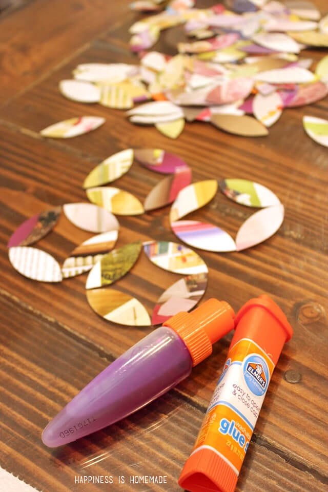 Elmer's Early Learners Glue Pens and Sticks are Perfect for Collage Activities