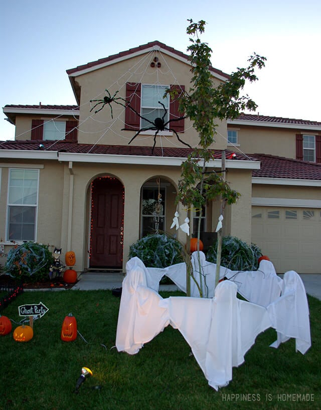 Ghost Ring Halloween Decoration