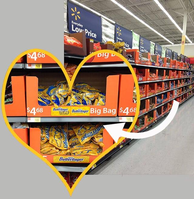 Halloween Candy Aisle