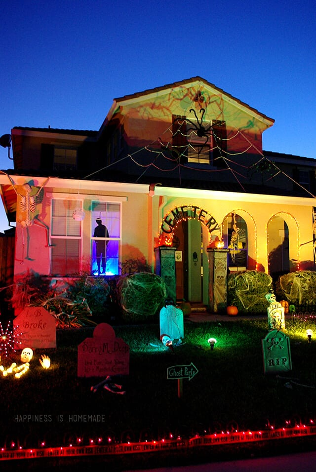 Outdoor Halloween Yard Decorations Happiness Is Homemade