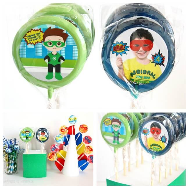Lollipics Personalized Custom Lollipops
