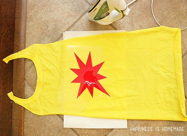 Make Personalized Superhero Capes from an Old T-Shirt
