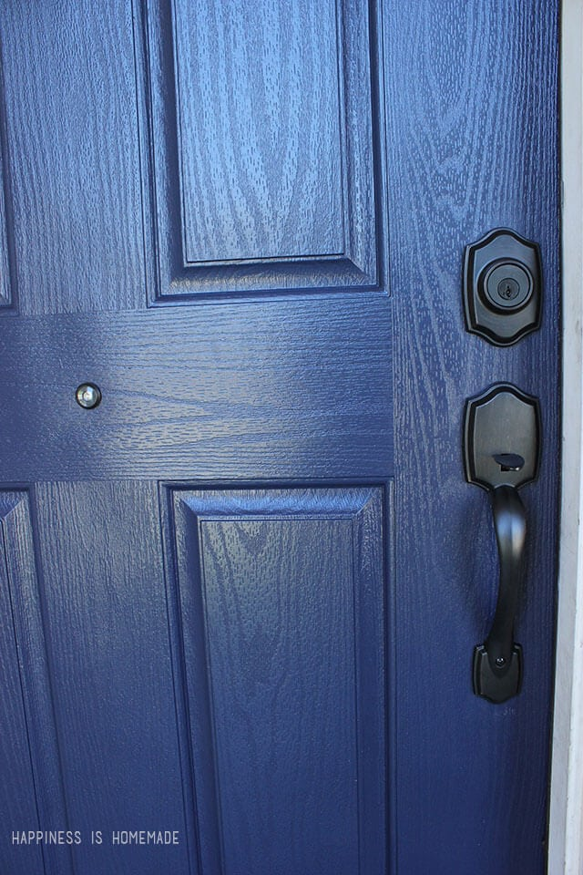 Modern Masters Peaceful Front Door Paint