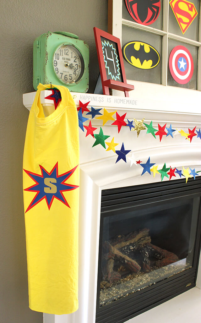 Diy Personalized Superhero Cape From A T Shirt Happiness
