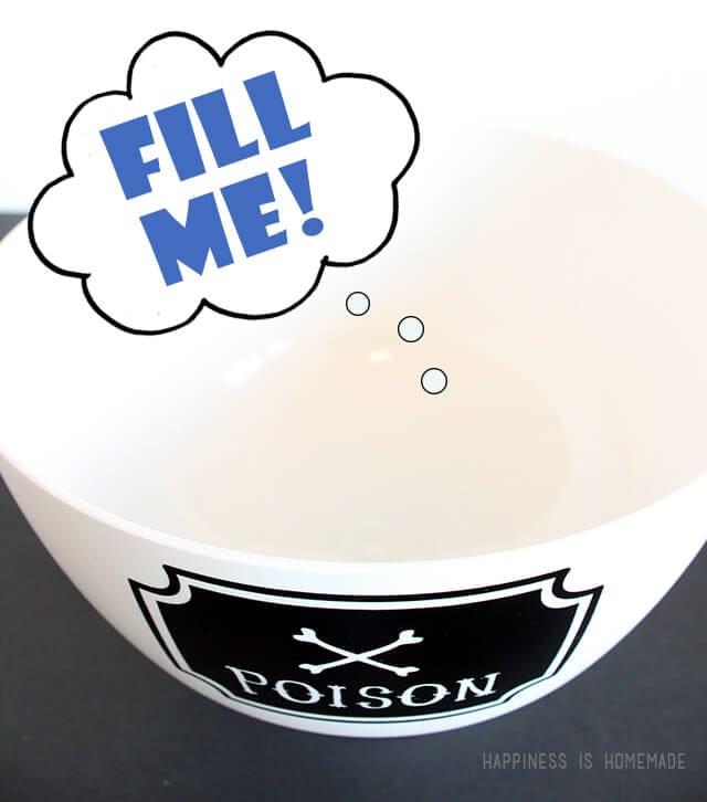 Sad Empty Candy Bowl