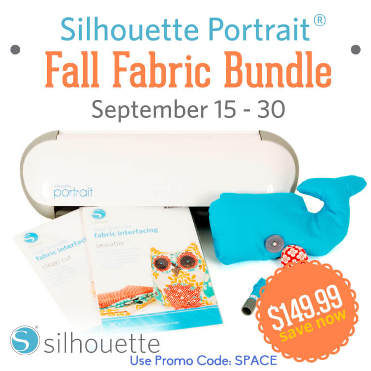 Silhouette Fall Fabric Promo