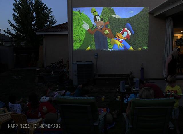 Superhero Movie Night