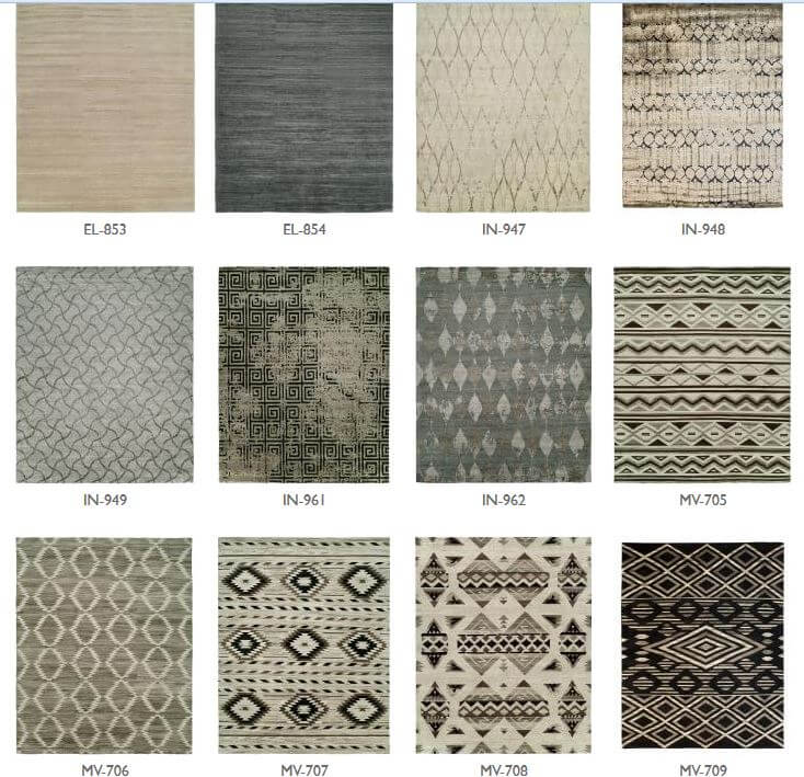 Contemporary And Southwestern Kalaty Rugs