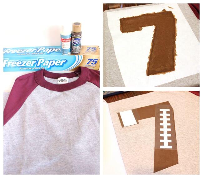 Diy T Shirt Design With Fabric Paint