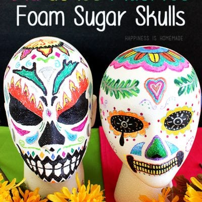 Family Craft Night: Dia de los Muertos Foam Sugar Skulls