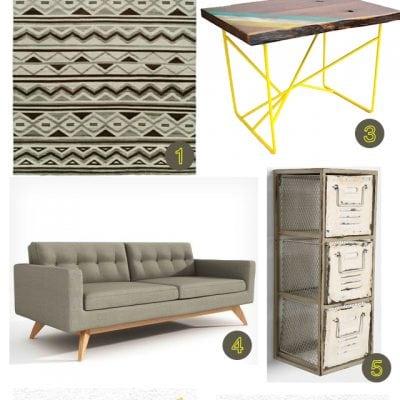 Modern Southwestern Living Room Inspiration