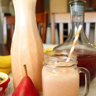 Sunrise Citrus Pear Berry Smoothie