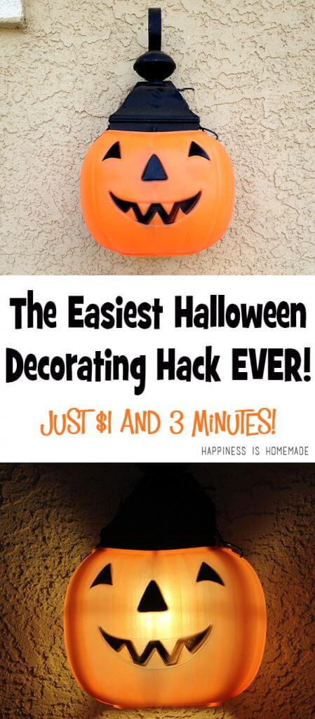 The Cheapest and Easiest Halloween Decorations EVER