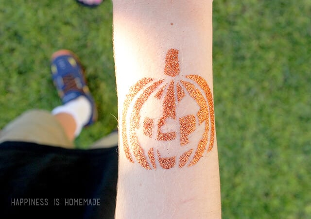 Tulip Body Art Glitter Tattoos for Halloween