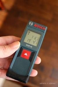 Bosch GLM 15 laser measuring tape