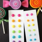 DIY Candy Button Dot Earrings