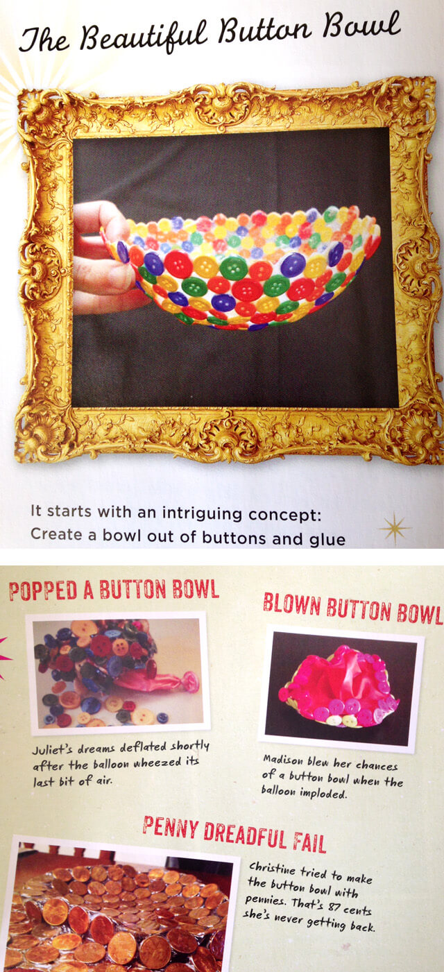 Craft Fail - Button Bowl