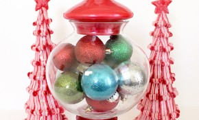Gumball Machine Ornament Display from Michaels