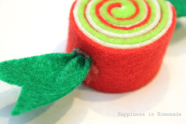 How to Make Felt Candy Ornaments for Christmas